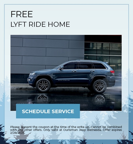 FREE LYFT RIDE HOME - February Special