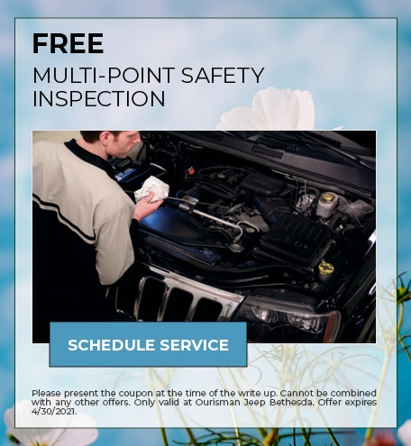 FREE MULTI-POINT SAFETY INSPECTION - April Specials