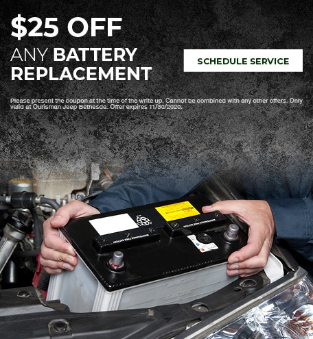 Battery Replacement Special - November Special