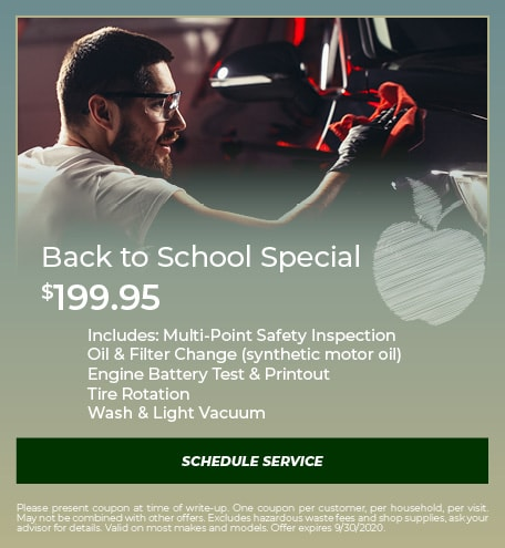 Back to School - September Special