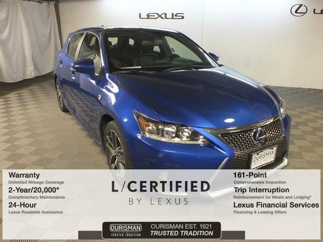2015 LEXUS CT 200h Hatchback