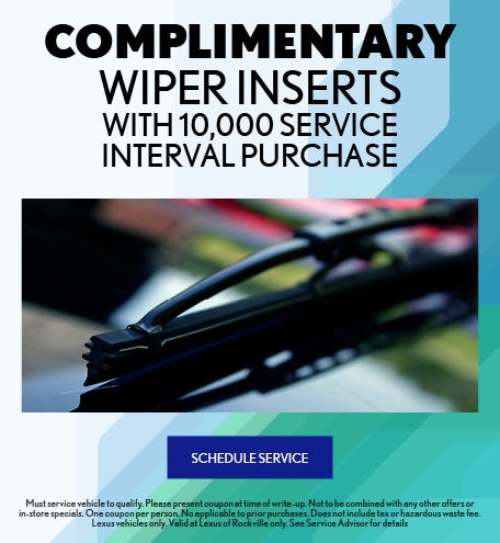 COMPLIMENTARY WIPER INSERTS