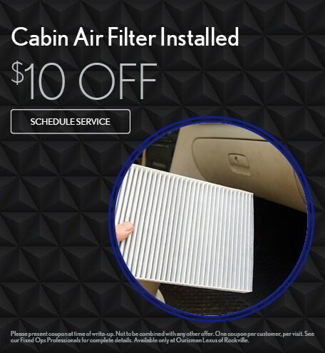Cabin Air Filter - Installed