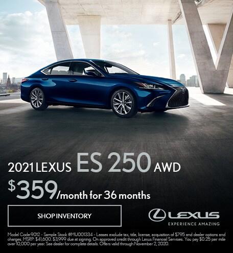 2021 Lexus ES250 Lease