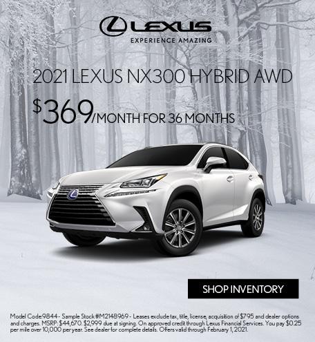 2021 Lexus NX 300 Hybrid