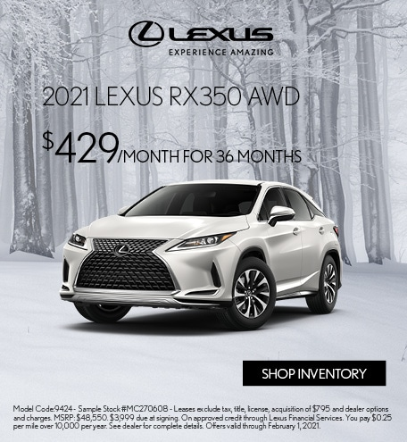 2021 Lexus RX350