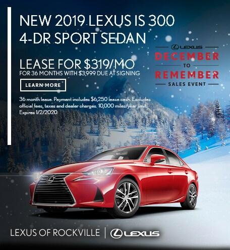 New 2019 Lexus IS 300