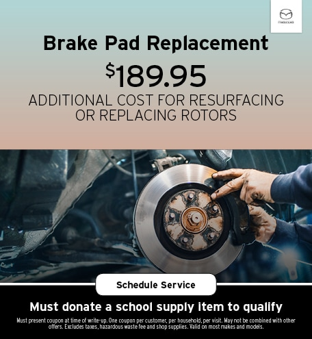 August   Brake Pad Replacement