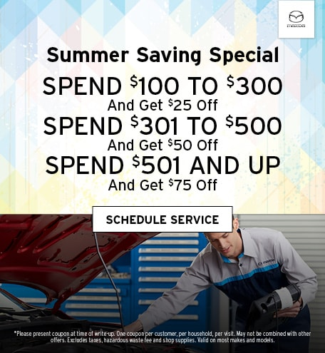 July | Summer Saving Special
