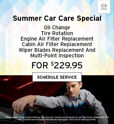 June | Summer Car Care Special