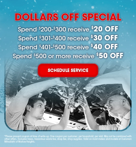 Dollars Off Special