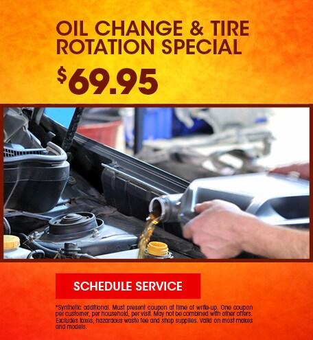 September | Oil Change & Tire Rotation