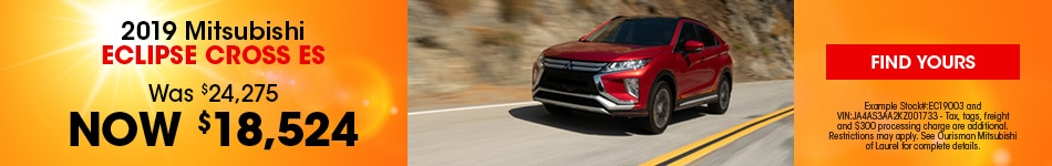 June | New 2019 Mitsubishi Eclipse Cross