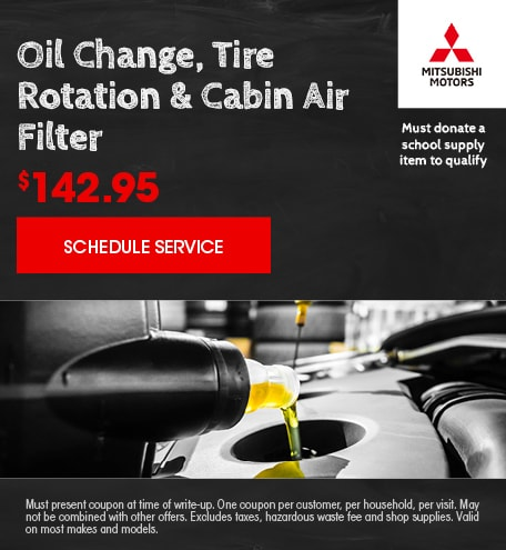 August   Oil Change, Tire Rotation and Air Filter