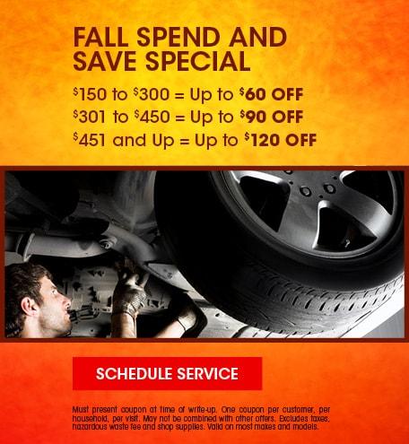 September | Fall Spend & Save
