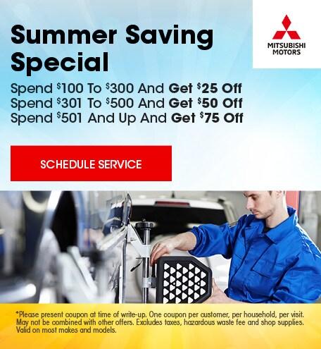 June | Summer Saving Special