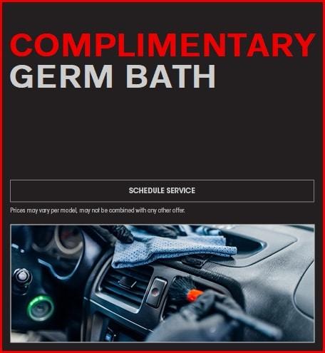 Complimentary Germ Bath