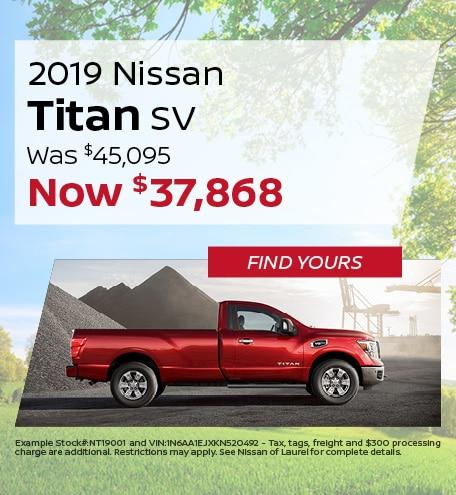June | 2019 Nissan Titan