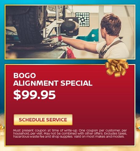 Bogo Alignment Special
