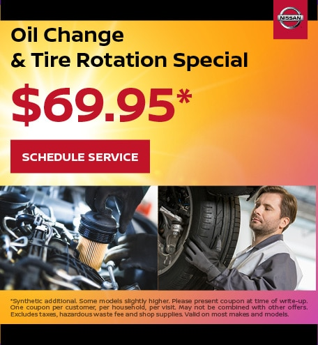 August | Oil Change and Tire Rotation Special