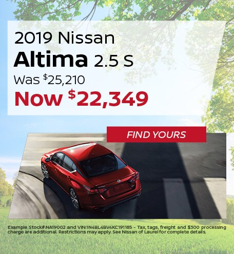 June | 2019 Nissan Altima