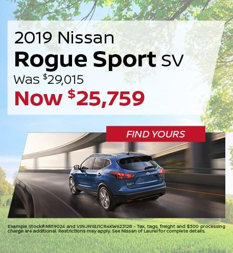 June | 2019 Nissan Rogue
