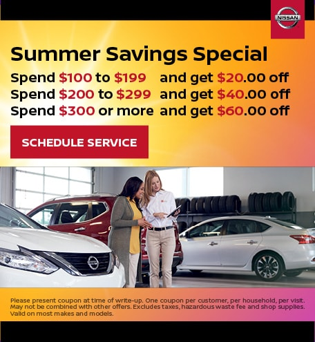 August | Summer Savings Special