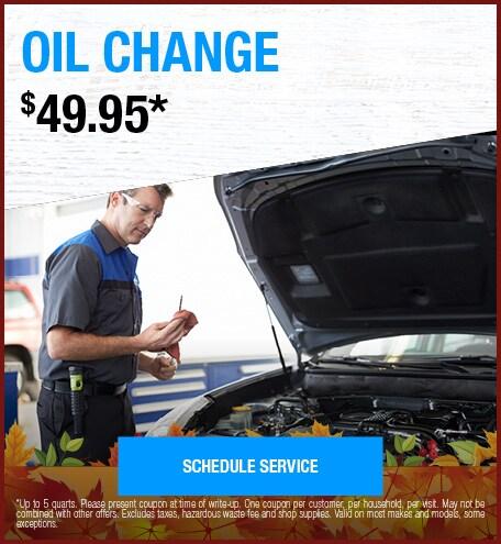 September  | Oil Change