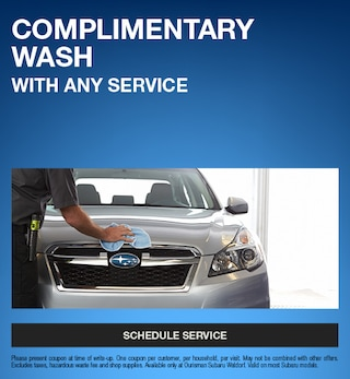 Complimentary Wash With Any Service