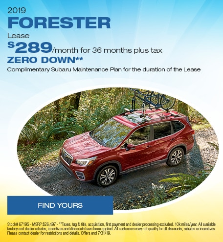 July | 2019 Subaru Forester