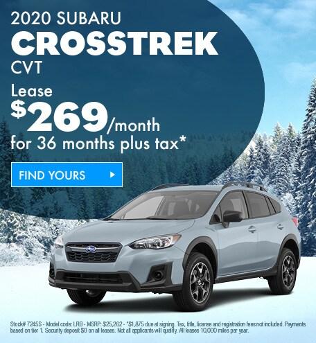 2020 Subaru Crosstrek Lease
