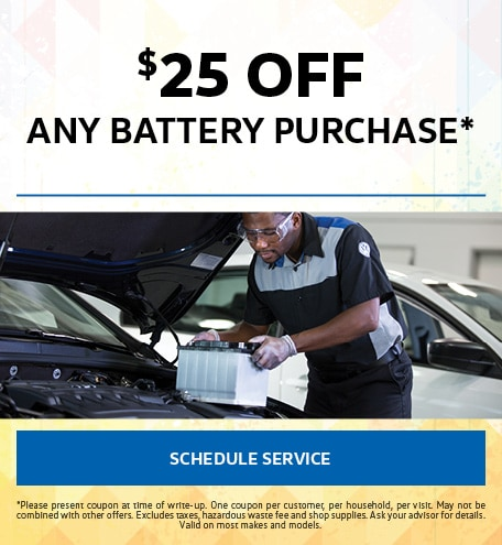 July   Battery Special