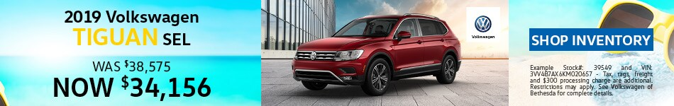June | 2019 Volkswagen Tiguan