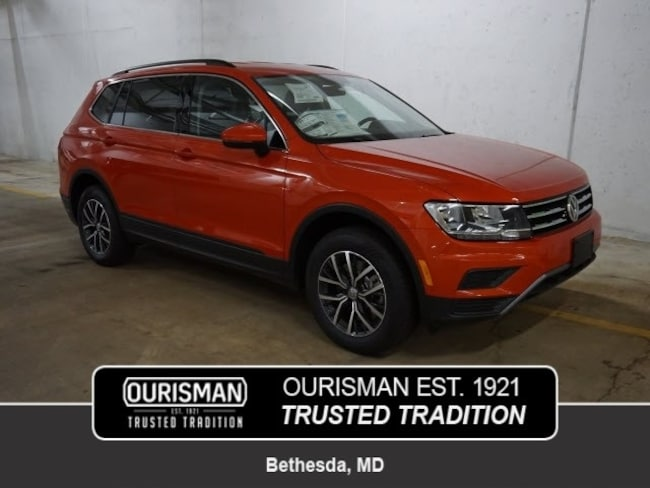 New 2019 Volkswagen Tiguan For Sale At Ourisman Volkswagen Of Bethesda Vin 3vv2b7ax4km134437