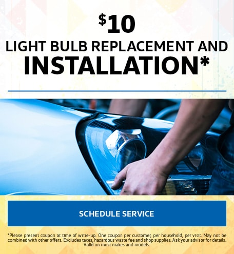 July | Light Bulb Replacement Special