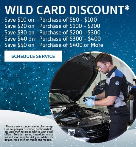 Wild Card Discount
