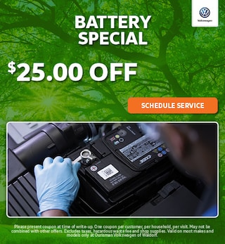 May | Battery Special