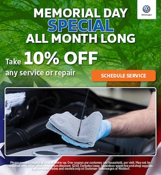 May  | Memorial Day Special All Month Long