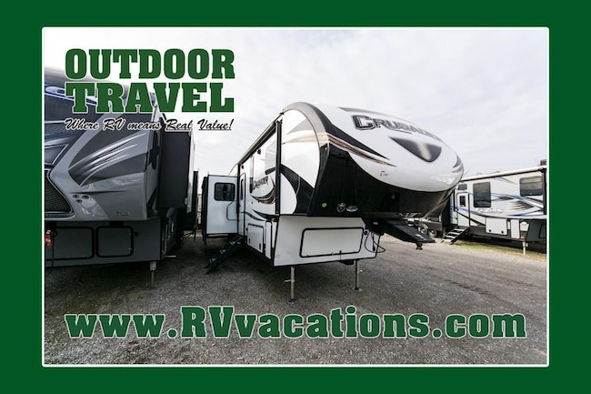 2018 FOREST RIVER CRUSADER 337QBH BUNK HOUSE 5TH WHEEL -