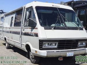 1985 ITASCA Windcruiser 34 RU Used Class A Motorhome For Sale -