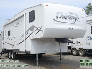 2004 K-Z Durango 285RL Rear Living Room Fifth Wheel -
