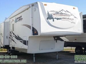 2006 AMERI-CAMP Summit Ridge 265DS-BS Rear Living Room 5th Wheel -