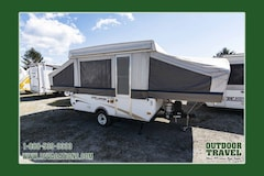 2007 COACHMEN Clipper Sport 107 Used Pop Up Tent Trailer -