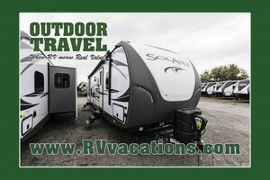 2018 FOREST RIVER Solaire 317BHSK Rear Bunk House Travel Trailer -