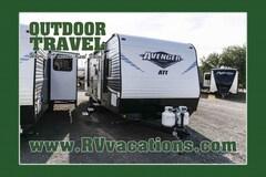 2018 FOREST RIVER Avenger 27RBS Rear Bathroom Travel Trailer -