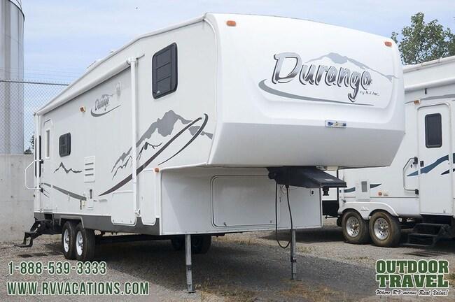 2004 K-Z Durango 285RL Rear Living Room Fifth Wheel -
