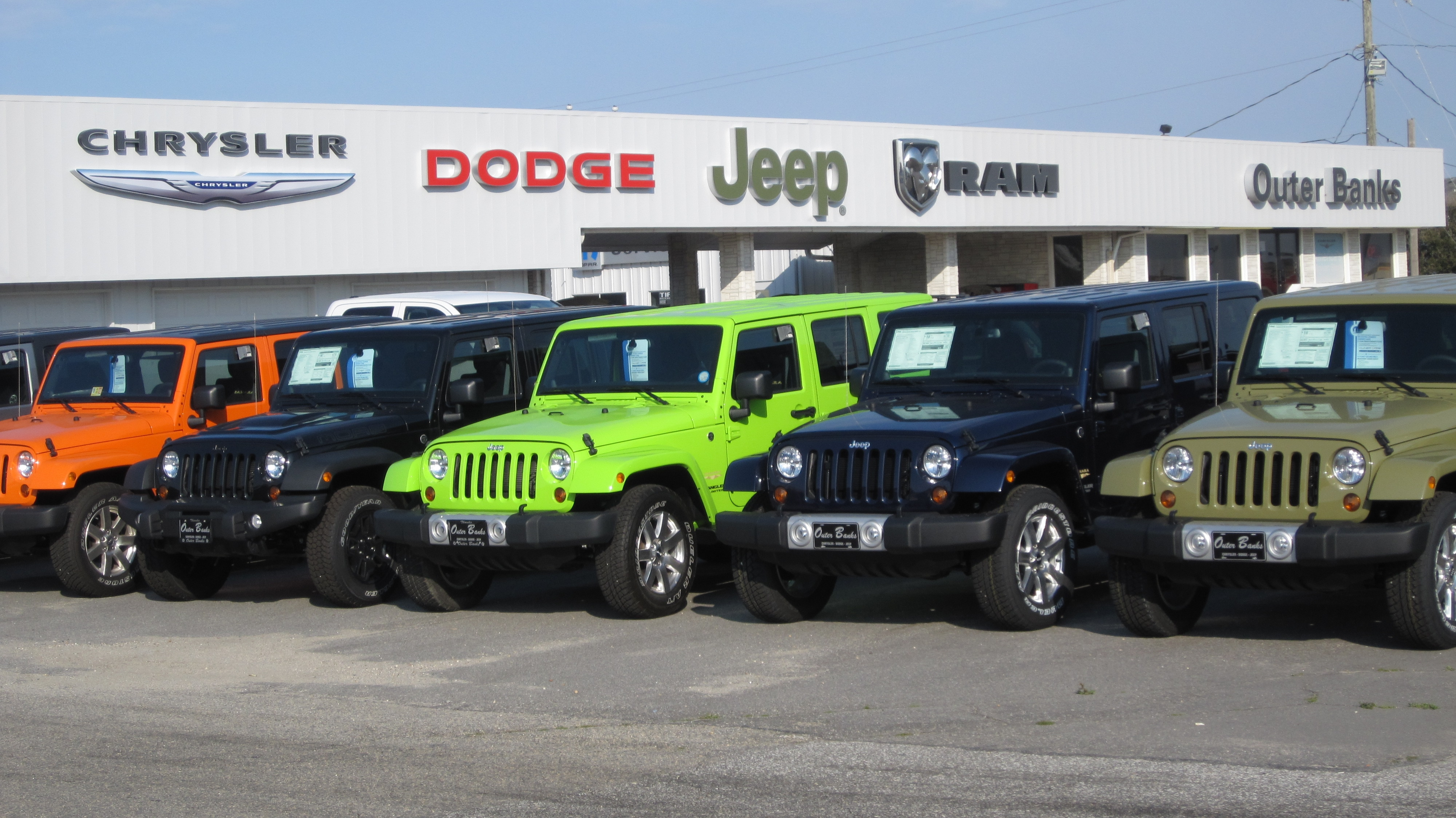 Learn about outer banks chrysler dodge jeep ram near for M l motors chrysler dodge jeep ram