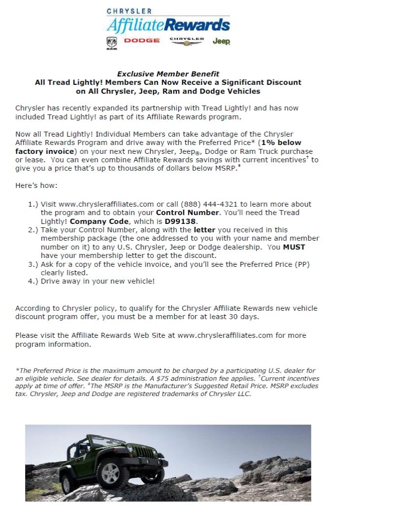 Outten Chrysler Dodge Jeep Ram New Chrysler Dodge Jeep Ram - 1 below factory invoice
