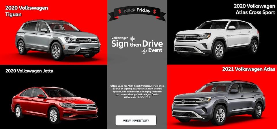 Black Friday Specials at Overturf Volkswagen!