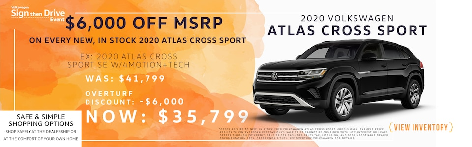 2020 Atlas Cross Sport Special